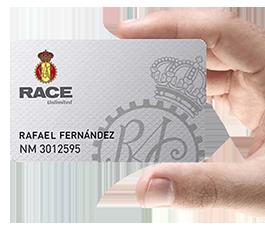 Con RACE Unlimited, vayas dónde vayas, nunca estarás solo.