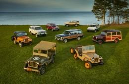 Jeep, 75 años en 10 modelos