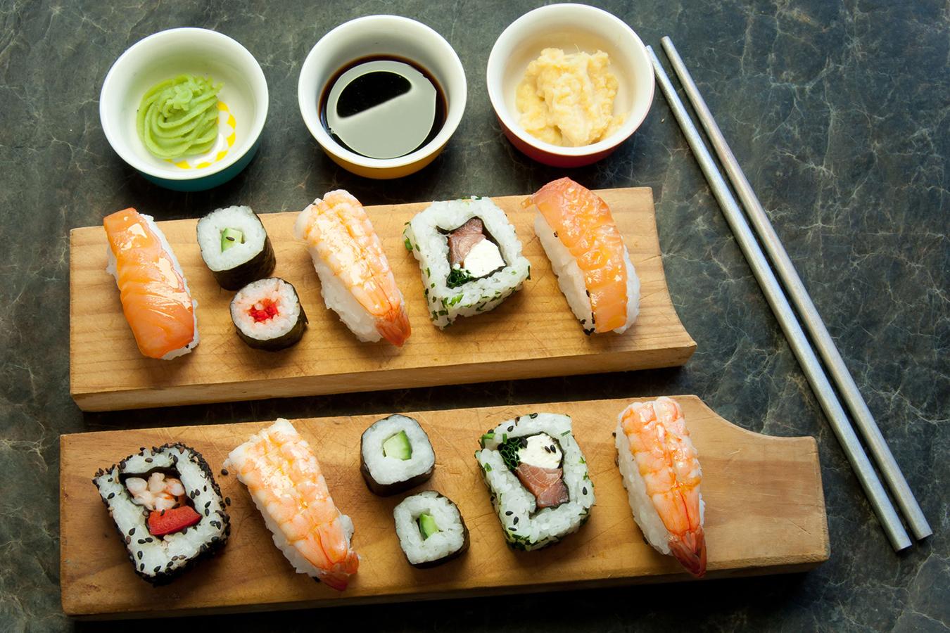Resultado de imagen de sushi