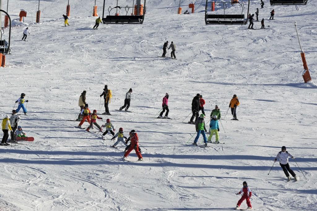 La tranquilidad de esquiar con el RACE 1