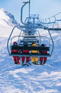 La tranquilidad de esquiar con el RACE 2