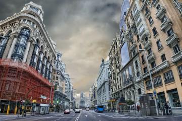 Los conductores suspenden el plan A de Madrid 4