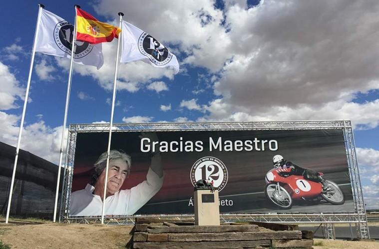 Adiós al legendario Ángel Nieto en el Jarama