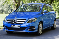Mercedes B200 Natural Gas Drive