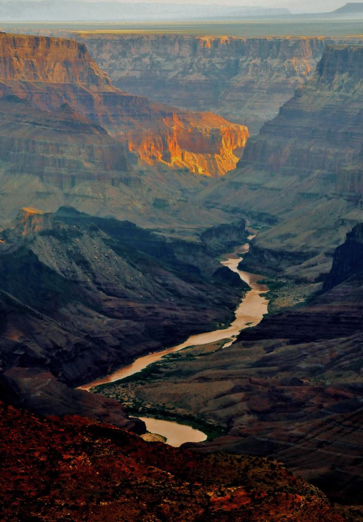 El gan cañón del Colorado 1