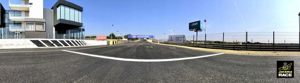 Asfalto de lujo en el Circuito Jarama - RACE