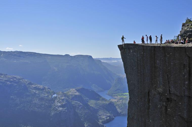 Fiordos noruegos, paisajes de vértigo 1