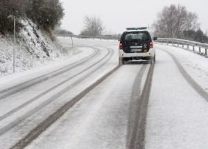 En invierno, la conducción más segura 1