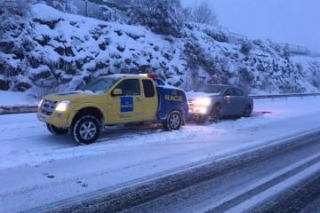 En invierno, la conducción más segura