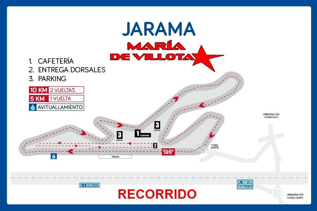 V Jarama María de Villota, la carrera de Nochebuena 2