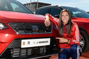 """Jennifer Hermoso: """"Ganar un Mundial sería un sueño inmejorable"""""""