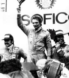 Niki Lauda y su primera victoria en el Jarama 1