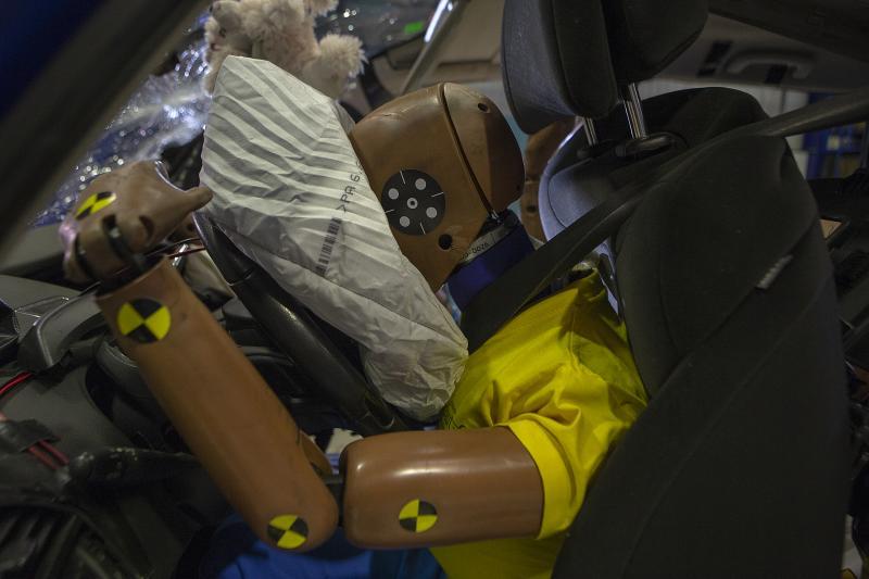 Un accidente a 56 km/h puede ser mortal si se viaja de forma incorrecta 1
