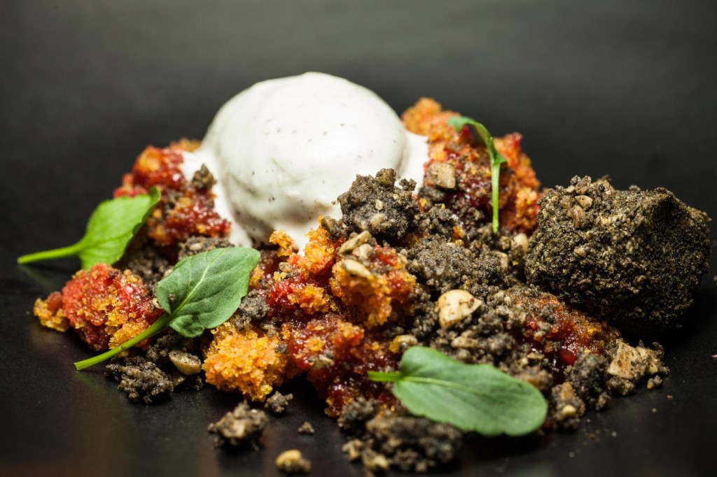 Cocina con estrella para recibir al otoño