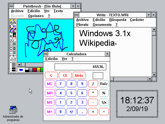 35 años de la llegada de Windows 2