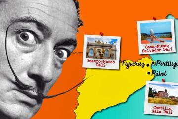 Los coches surreales de Dalí