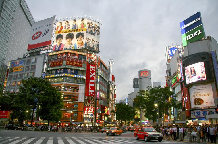 Tokio, una colmena de neón y sushi