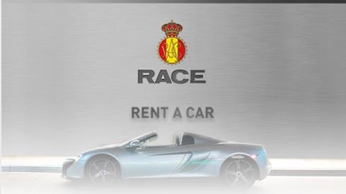 Alquila coche con la garantía del RACE 1