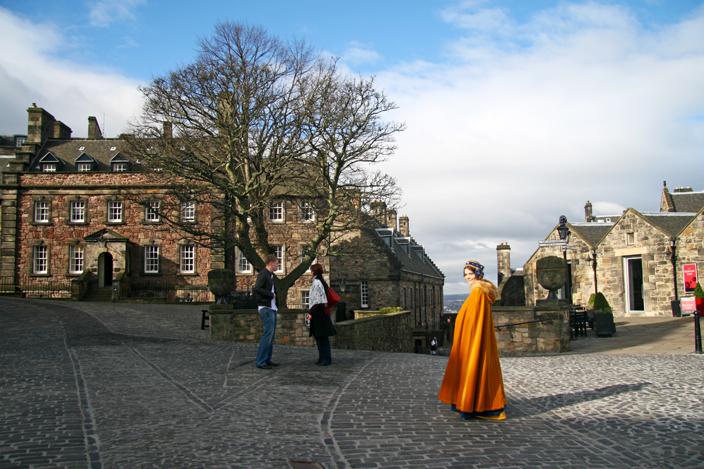Castillo Interior Edimburgo