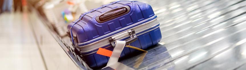 El RACE te ayuda a buscar tus maletas