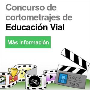 Banner concurso cortometrajes educacion vial