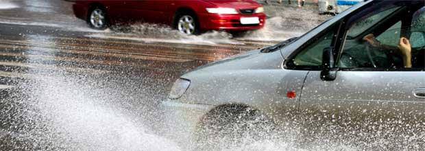 Problemas tráfico ante lluvias