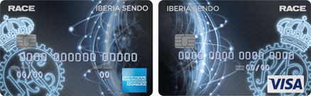 Tarjetas Iberia Sendo RACE