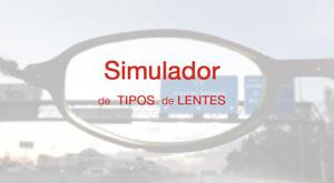 Simulador de lentes