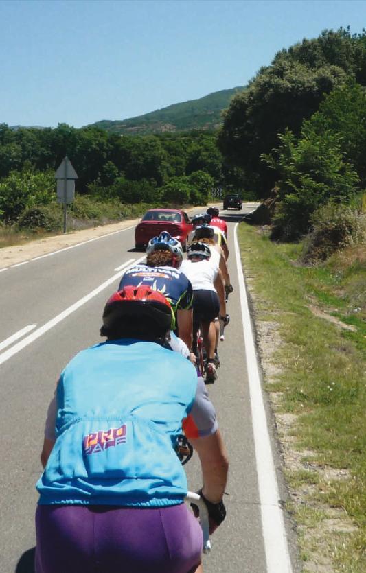 El transporte de la bicicleta