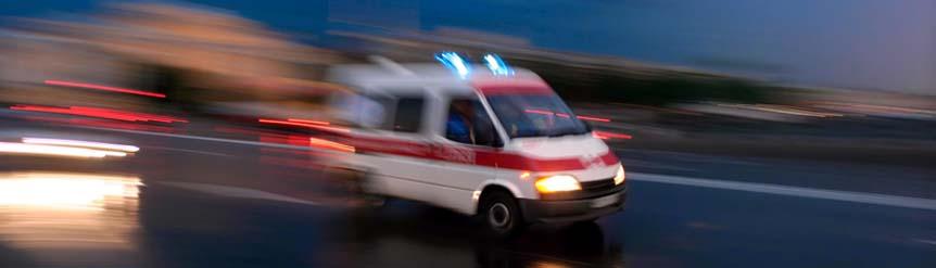 Vehículos en servicio de emergencia