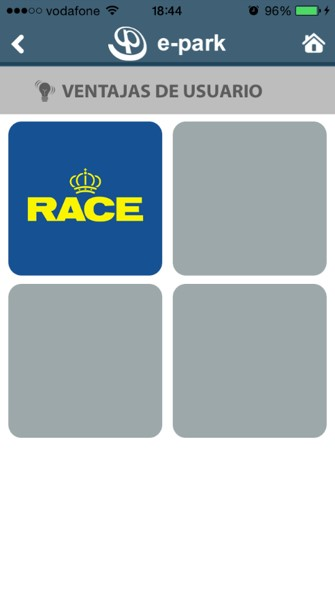 Inicial ventajas usuario RACE