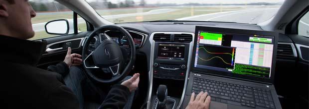 El futuro a través del coche autónomo de Ford