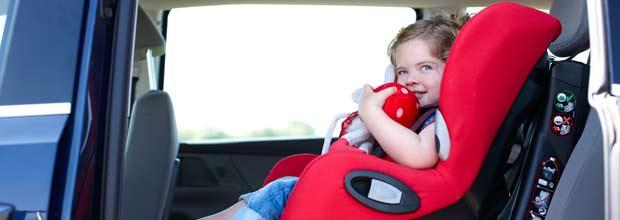 Dudas sobre las sillas de coche para niños