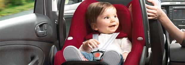 Sistemas de retención infantiles coche