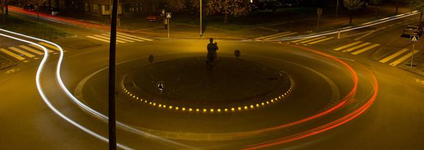 circular en rotondas