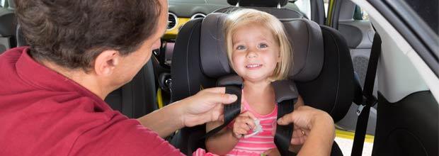 Seguridad infantil en el vehículo SRI