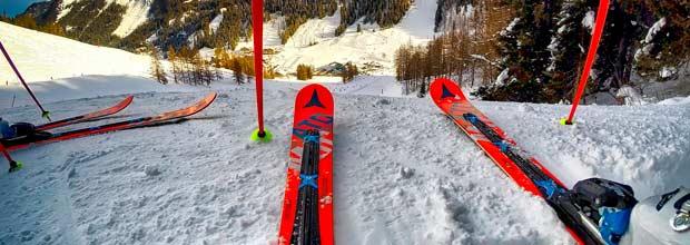 Transportar esquís