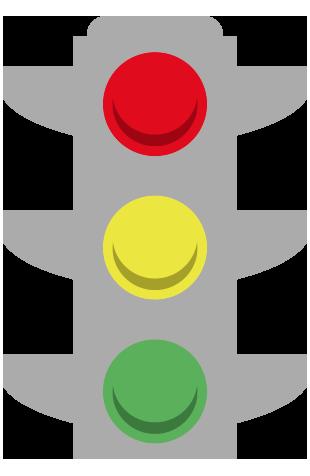 Testigos de avería semáforo