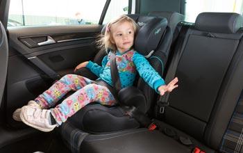 Seguridad infantil en el vehiculo
