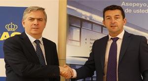 Asepeyo y el RACE firman un acuerdo