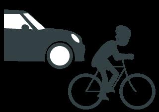 Respeta a los ciclistas
