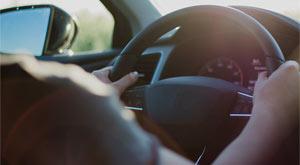 Posición correcta al volante