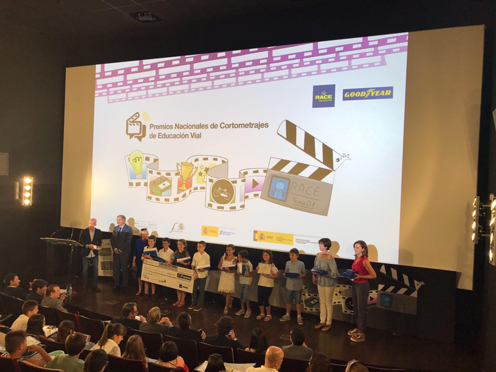 1er premio: Premios de Cortometrajes de educación vial