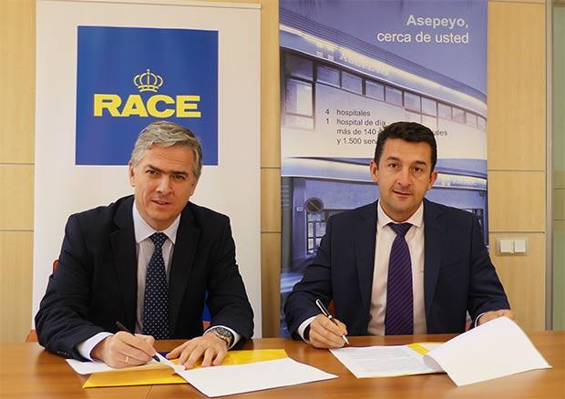El RACE y Asepeyo firman acuerdo