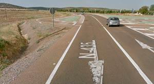 Carreteras con mayor tramo de concentración de accidentes