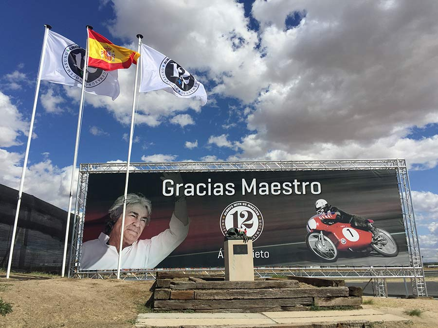 Homenaje a Ángel Nieto