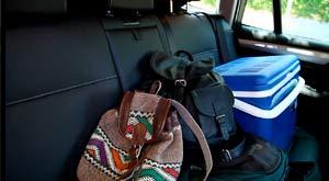 Objetos sueltos dentro del coche