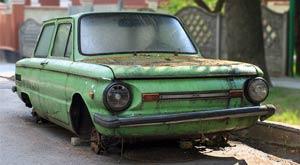 Abandonar un vehículo en la calle