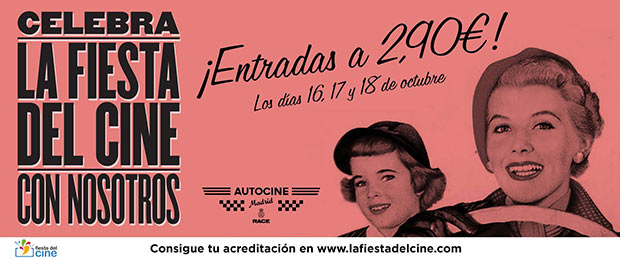 La fiesta del cine en Autocine Madrid RACE