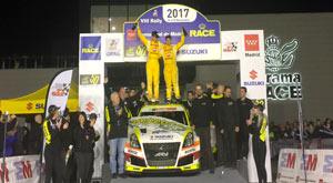 Gorka Antxustegi ganador Rally CAM 2017